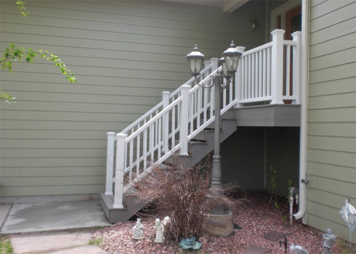 Entryway steps