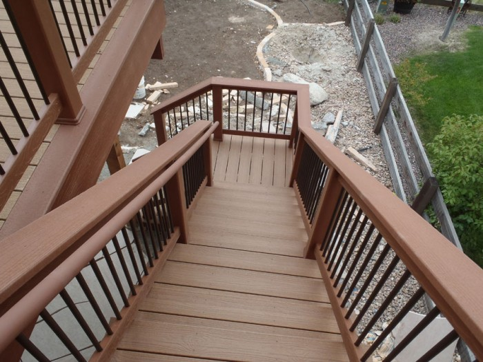 2nd story deck 3 for Second story decks with stairs