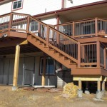 2nd story deck with stairs