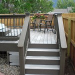 stairway to pool deck